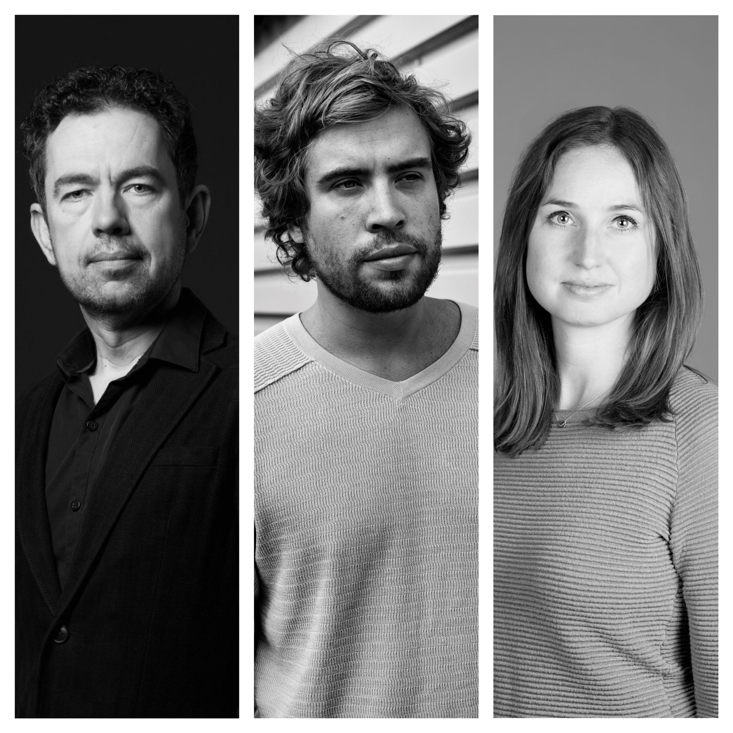 drie auteurs
